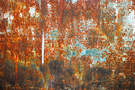 dirty sheet: Textured metal rusty dirty sheet background
