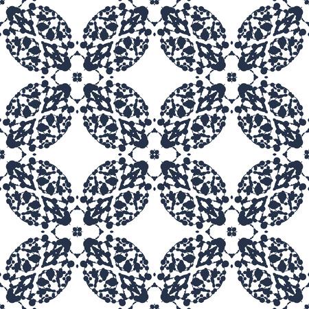 ink blots: Seamless Print made of ink blots