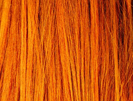 textura pelo: Textura del pelo rojo Imagen Macro