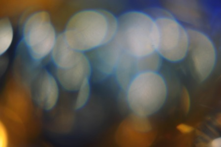 colorized: Lights blurred bokeh background night party for your design, vintage retro color toned, colorized image