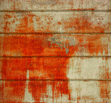 metal corrosion: Corrosion on construction metal sheet background