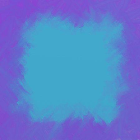 azure: Violet and Azure grunge ink hand-drawn colorful square frame