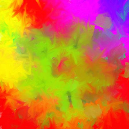 painted background: Mixed colors painted background green red violet color