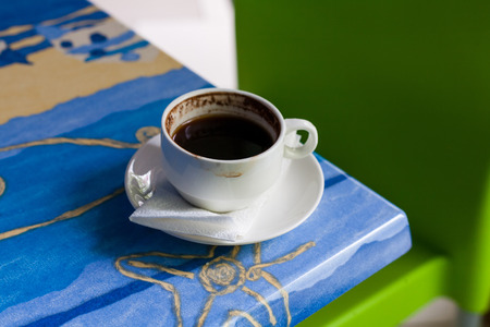 cofee cup: Cofee cup on a table