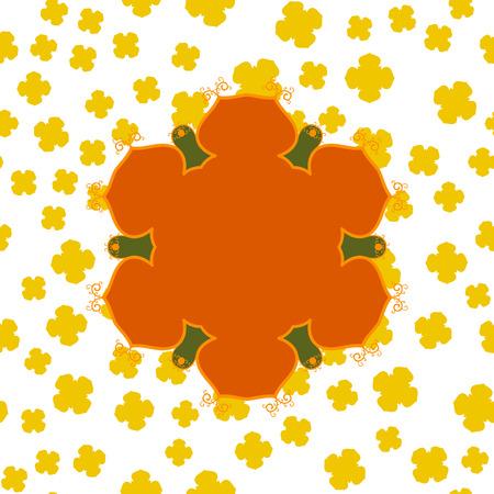 Mandala Print Brame. Mandala Cover Design.