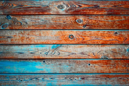 Tral and brown color old planks as background for design. Banque d'images