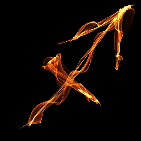 Sagittarius (Archer) sign - zodiak of fire