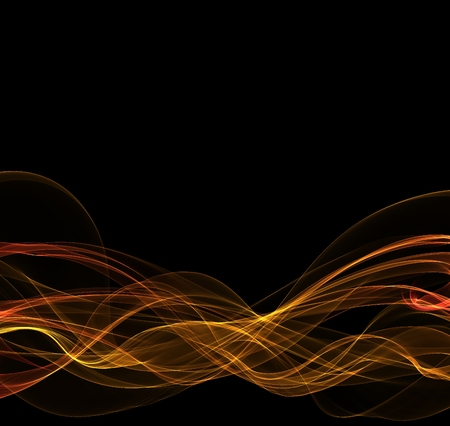 abstract fire lines with copyspace