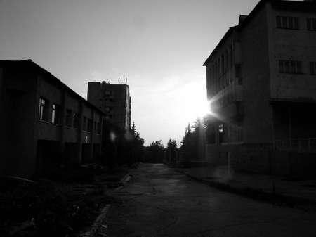 vanished: vanished street Stock Photo