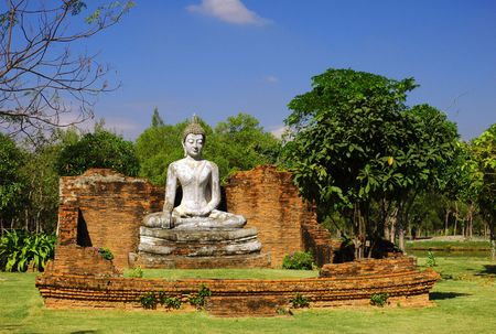 singburi: The Wihan of Wat Pho Kao Ton, Sing Buri (Ancient City)