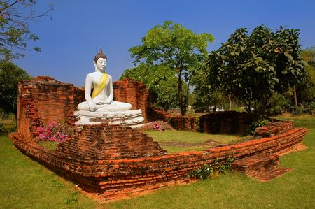 singburi: The Wihan of Wat Pho Kao Ton, Sing Buri (Ancient City)