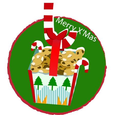 christmas cookies: christmas cookies Illustration