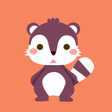 illustrators: raccoon