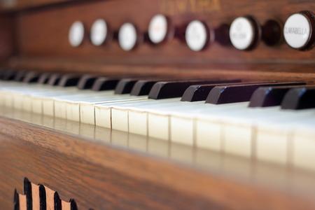Classic orgel Stockfoto