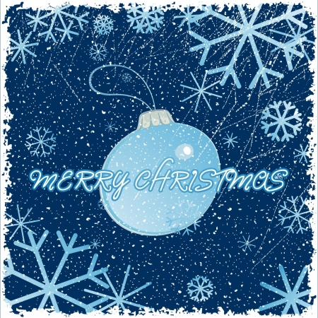 Congratulation card with christmas Vector