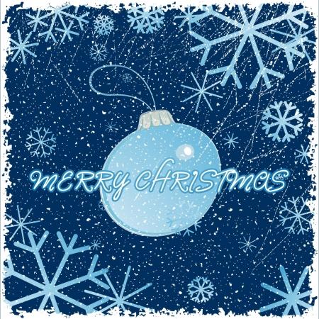 Congratulation card with christmas Stock Vector - 16265370