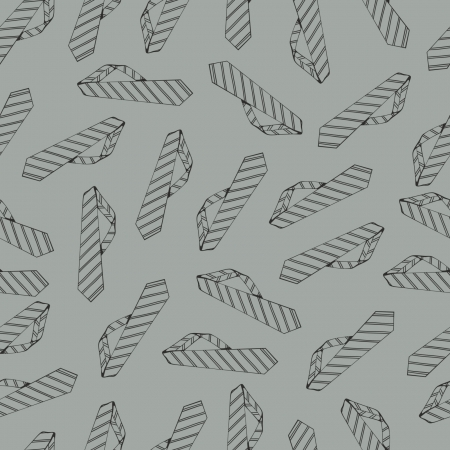 rapport: Seamless pattern with ties