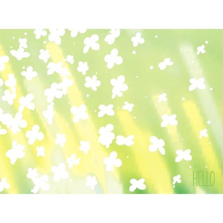sunshine background: Nature sunshine background with flowers  Vector eps10  Illustration