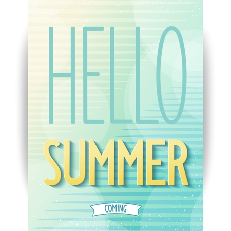summer background: Summer design poster on abstract background  Vector eps10