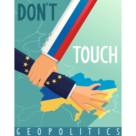 geopolitics: The crisis in Ukraine  Russia stops scenario Euro Union  Geopolitical war