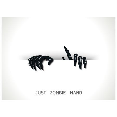 slit: S�lo web y plantilla de impresi�n con las manos de zombies en 3D desde la rendija.