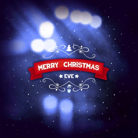photoreal: Abstract christmas background with sparks and ribbon