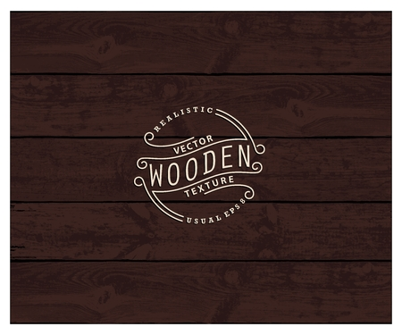wenge: Background of realistic wooden planks. Tricolor, simple, usable design. The color of wenge wood