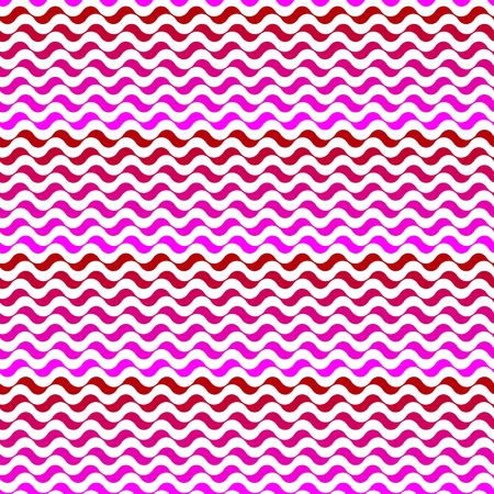 undulated: Seamless pattern. Mixed pink waves texture