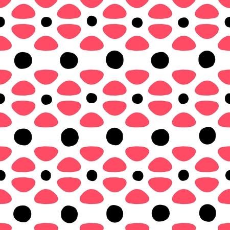 Seamless pattern. Geometric, simple vector print