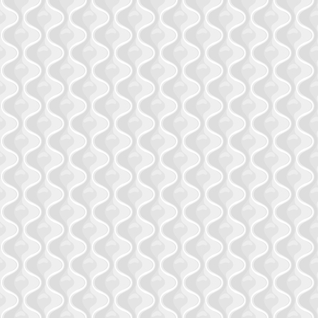 White Seamless quilted pattern. Vector illustration