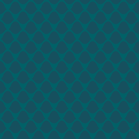 hauberk: Stylized Seamless squama pattern. Simple Vector illustration