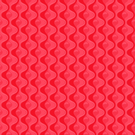 Red Seamless quilted pattern. illustration