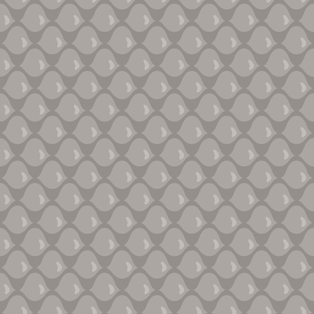 hauberk: Stylized Seamless squama pattern. Simple  illustration Illustration