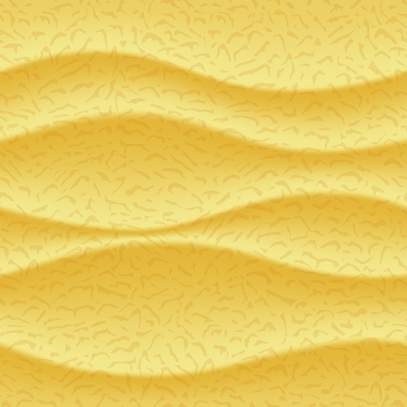 Stylized wavy 3D structure of beach sand with gradient shades. mesh illustration Illustration