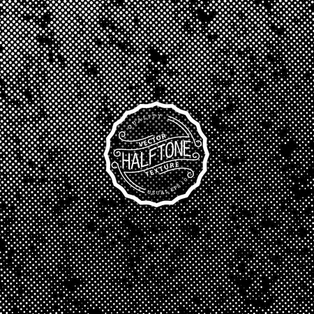 Abstract halftone background. High quality vector trace.