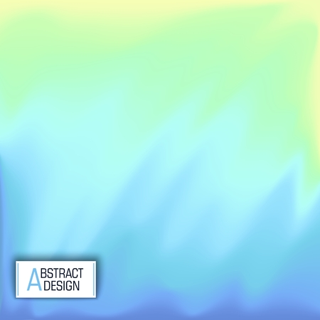 Abstract multicolored background. Vector design. Modern art Illustration
