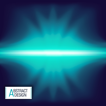 Abstract techno background. Bright flash. Vector design. Modern art Illustration