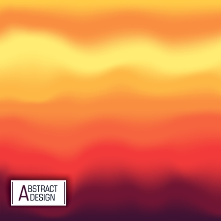 Abstract multicolored background. Stylized Vector design. Modern art