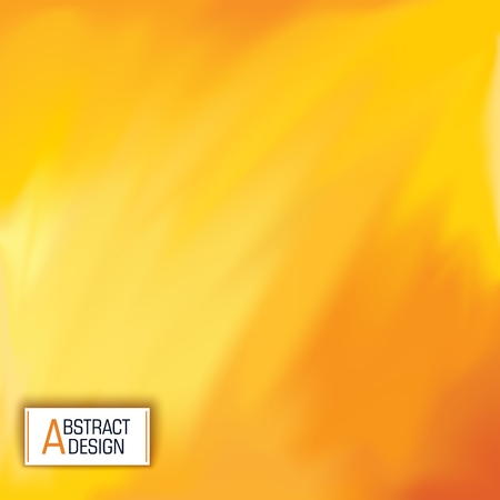 Yellow abstract banner.