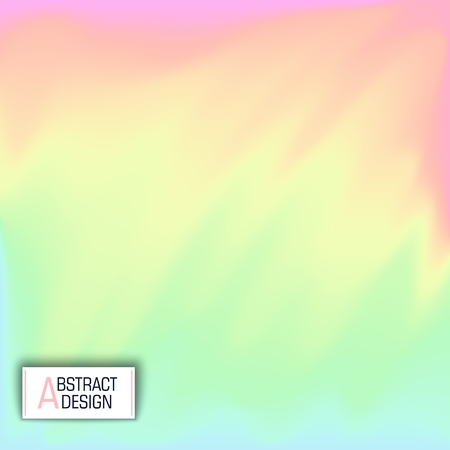 Abstract multicolored background. Soft combination of colors. Vector design. Modern Memphis style