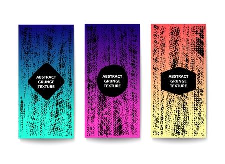 Abstract grunge texture. Vector template design