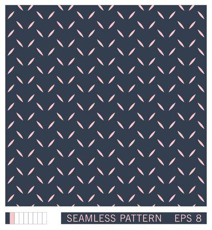 Vector seamless pattern. Simple graphic of strokes. Minimalistic decorative design.  矢量图像
