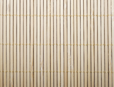 Pattern of bamboo napkin texture photo