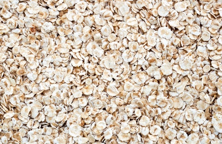 Oat flakes texture or background Stock Photo - 8614244
