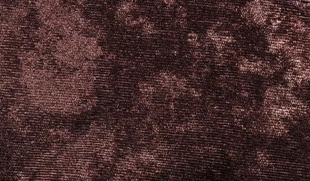 velvet texture: Brown velvet texture for background Stock Photo