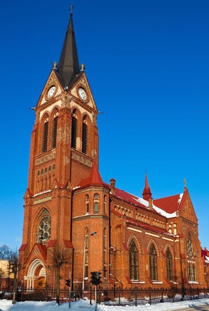 St. George cathedral in Jelgava city, 40km from Riga in Latvia Stock Photo - 9212054