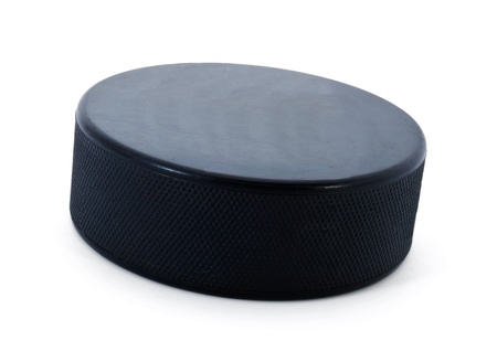 hockey puck: Hockey puck