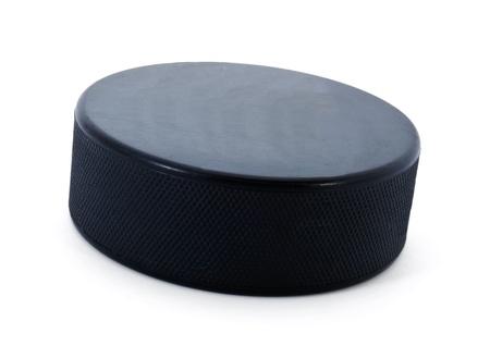 hockey ice: Hockey puck