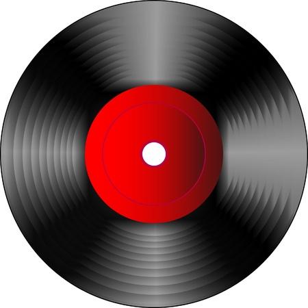 rock music: Vinyl disc