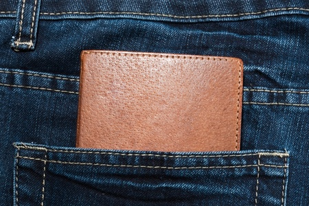Document in the jeans pocket photo